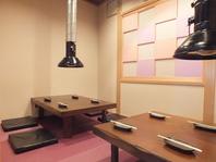 広々座敷席個室