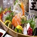 料理メニュー写真お刺身5種盛