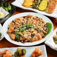 新鮮な牛肉を韓国風にお楽しみいただけます。