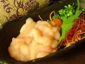 料理メニュー写真季節の定番・北海道産生白子!