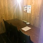 1名様~3名様までご利用いただける個室のカウンター席◎仕事終わりにどうぞ♪