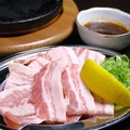料理メニュー写真四万十豚 バラ【塩・タレ】
