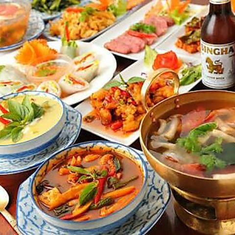 タイ料理レストラン ティーチャバ 柏