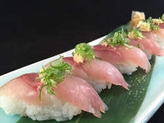 地鯵にぎり寿司