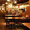 6名様までご着席頂けるテーブル席です。仕事仲間との飲み会等や二次会等におすすめです!