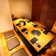 <しっとりとした空間>個室・半個室・カウンターで寛ぐ