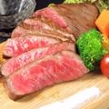 料理メニュー写真宮崎牛赤身ステーキ