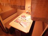 半個室テーブル席×2