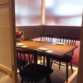 プライベート感溢れる2名様個室を完備しております!落ち着いたお席でのお食事、お酒をご堪能いただけます♪デートにも最適なお席ですので是非ご予約下さい!ご一緒にコースのご予約もお待ちしております★