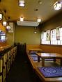 サク飲みができる小上り席やカウンター席もご用意あります。