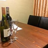 2名様~4名様でご利用いただける個室のテーブル席。