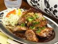 料理メニュー写真鮪のホホ肉ステーキ