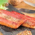 料理メニュー写真厚切りベーコンのステーキ