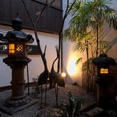 【中庭】京都の歴史と季節を感じられる贅沢な空間で思い思いのひと時を。