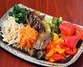 料理メニュー写真ナムル8種盛り 780円(税抜)