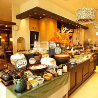 ららぽーと横浜内の大人気野菜ビュッフェのレストラン♪