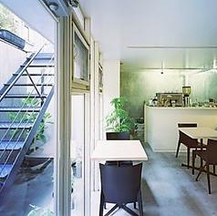 居心地のよい雰囲気が魅力のカフェ空間◎