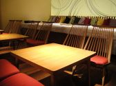 店内奥ローテーブル、ローシートのお席