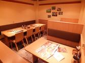 テーブル席×2