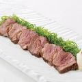 料理メニュー写真京鴨の熟成炙り焼き九条葱と山椒おろしポン酢