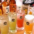 ドリンクは200円(税抜)~と激安!ハッピーアワーなら生ビールジョッキがなんと190円(税抜)!