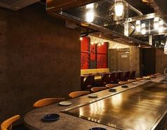 【カウンター席】オープンキッチンのカウンター席は、14席ご用意しております!