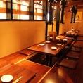 最大35名様までOK!札幌駅すぐの立地は会社の宴会でもプライベートの宴会でも使いやすさ◎