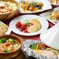 【3時間食べ飲み放題☆3,290円!】FOOD約80種★DRINK約100種『ポピュラーコース』