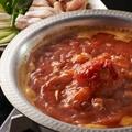 料理メニュー写真水炊きトマト鍋 ~イタリアン?!和風?!おしゃれなお味~