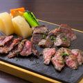 料理メニュー写真和牛3種ステーキ(150g)