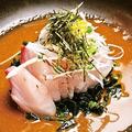 料理メニュー写真九州名物 鮮魚のゴマダレ和え