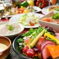 【女子会♪3時間食べ飲み放題☆2,590円!】FOOD約80種★DRINK約100種『女子会コース』