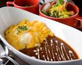 料理メニュー写真オムライスディナー(スープ・サラダ付)