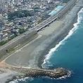 西湘南海岸、御幸の浜まで、車で5分!