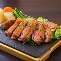 料理メニュー写真黒毛和牛レアかつ(S:100g)