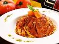 料理メニュー写真トマトスパゲッティー