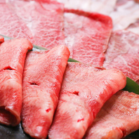 鉄板焼き肉の「肉」にこだわる