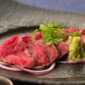 料理メニュー写真極上愛知牛のレアステーキ