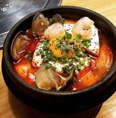 料理メニュー写真海鮮純豆腐チゲ