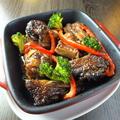 料理メニュー写真スペアリブのマーマーレード焼き
