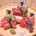 料理メニュー写真ベスト3種の肉盛り(約2人前)