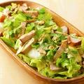 料理メニュー写真パクチー&チキンサラダ