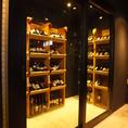 ボトルワインは全品1980円!!!!大船ではMIRAだけの「ウォークインワインセラー」♪お好きなワインボトルを自分で選べます!