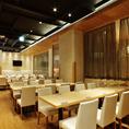 50名様着席可能な大人数宴会個室。赤坂駅直結なので天候に左右される事なく楽しんで頂けます♪