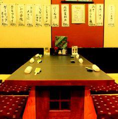 6名用テーブル席もございます。