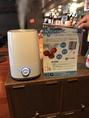 【感染症対策】新型超音波噴霧器を設置。電解水での除菌・洗浄など衛生管理に努めています。
