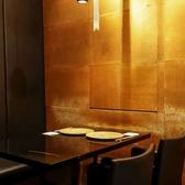 4名様テーブル席。ビジネスランチなどに。