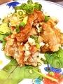 料理メニュー写真油琳鶏