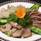 料理メニュー写真三種冷菜盛り合わせ(砂肝・豚タン・新鮮レバ)