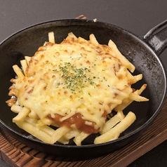 ポテトチーズのミート焼き